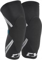 TSG-Knie-und-Schienbeinschoner-Dermis-A-black-Vorderansicht