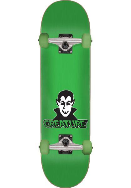 Creature Skateboard komplett Vamp Mini green vorderansicht 0161845