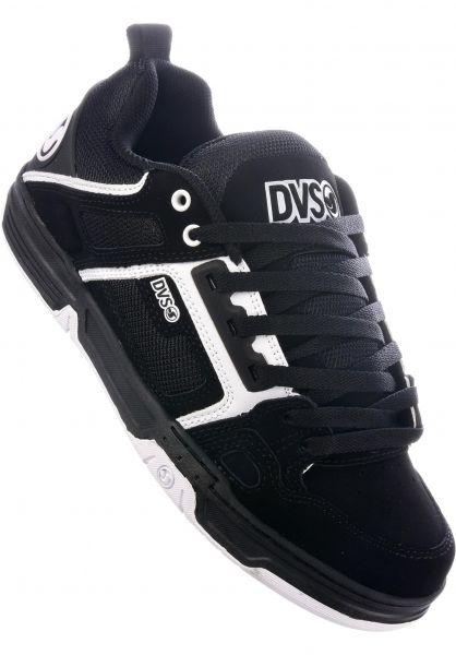 DVS Alle Schuhe Comanche black-white Vorderansicht