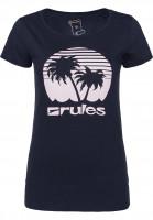 Rules T-Shirts Palm Girls deepnavy Vorderansicht