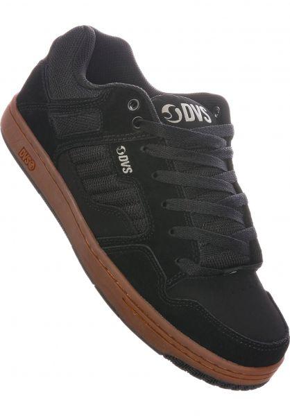 DVS Alle Schuhe Enduro 125 black-reflective-gum vorderansicht 0604189