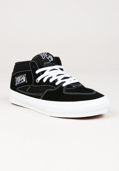 Vans Alle Schuhe Skate Half Cab black-white vorderansicht 0604962