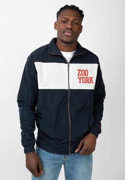Zoo York Trainingsjacken College Track Jacket navy vorderansicht 0670327