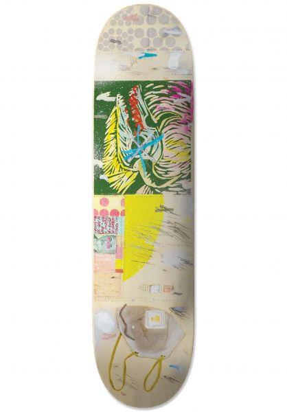 UMA Landsleds Skateboard Decks Bovo Covo cream vorderansicht 0267195