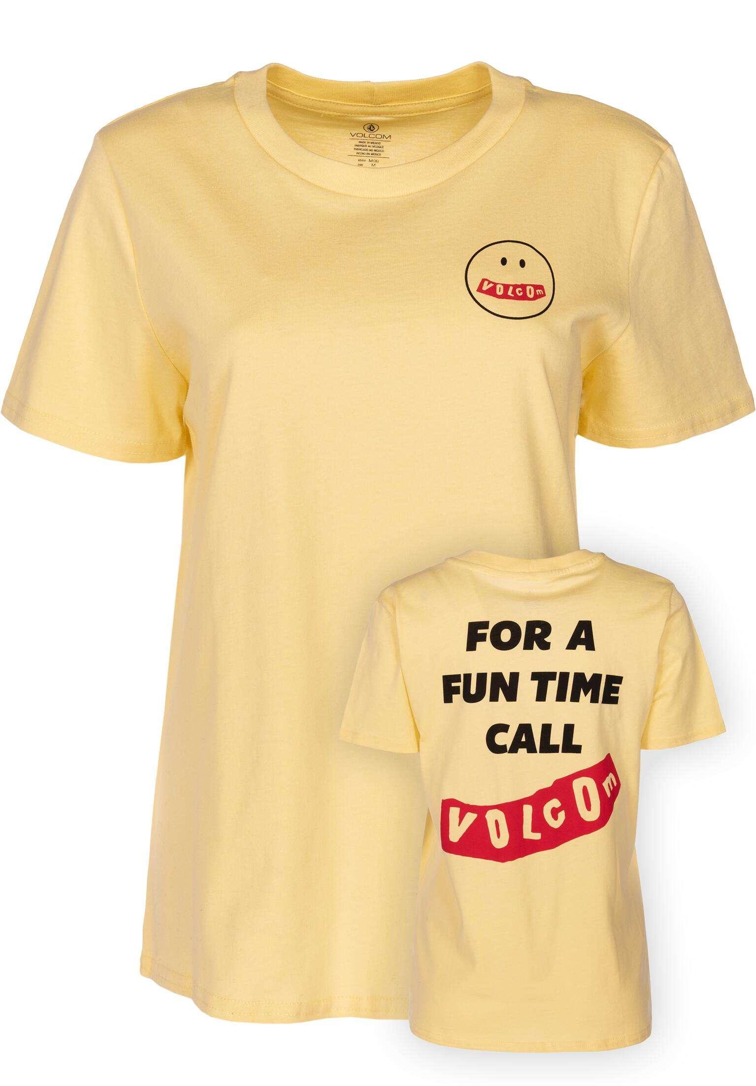 I ll Take Both Volcom T-Shirts in faded yellow für Damen   Titus 7cccfa5161