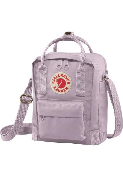 Fjällräven Taschen Kanken Sling pastellavender vorderansicht 0891618