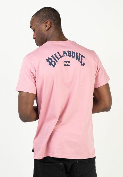 Billabong T-Shirts Arch Wave gum vorderansicht 0323803