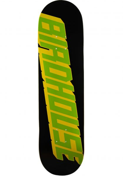 Birdhouse Skateboard Decks x Sushi Type Logo black vorderansicht 0266333
