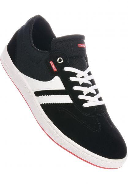 Globe Alle Schuhe Empire Vincent Milou black-white vorderansicht 0604742
