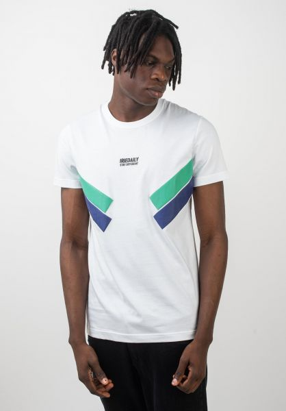 iriedaily T-Shirts Prime white vorderansicht 0320400
