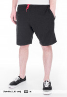 Element Shorts Cornell WK charcoalheather Vorderansicht