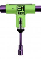 EMillion Skate-Tools x Silver Tool green-purple Vorderansicht