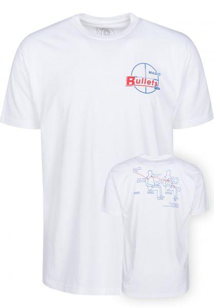 Theories Of Atlantis T-Shirts Magic Bullet white Vorderansicht