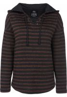 titus-hoodies-manou-rust-striped-vorderansicht