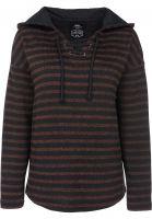 titus-hoodies-manou-rust-striped-vorderansicht