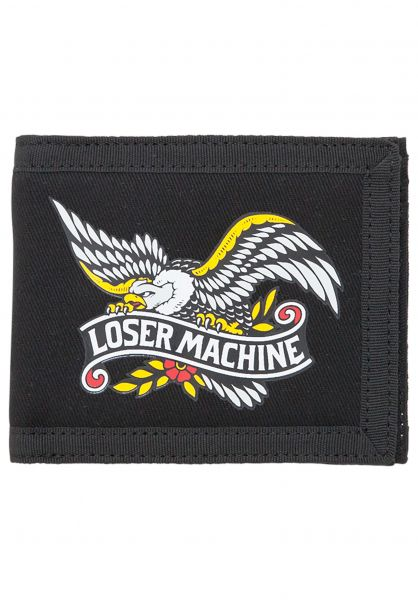 Loser-Machine Portemonnaie Glorybound Bifold Wallet black Vorderansicht