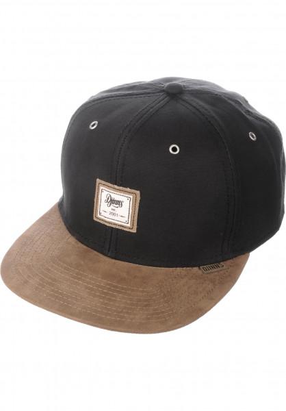Djinns Caps 6P SB 10oz Canvas black Vorderansicht
