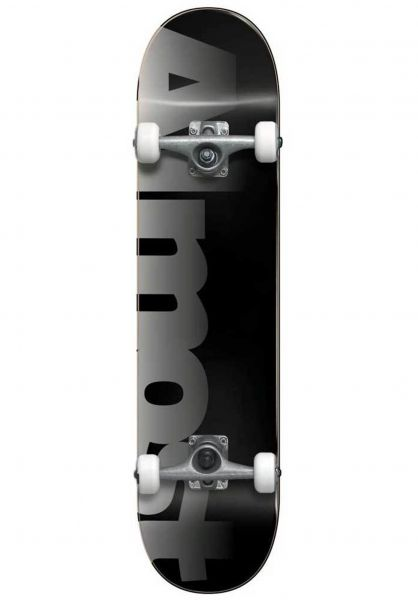 Almost Skateboard komplett Blend FP black vorderansicht 0160865