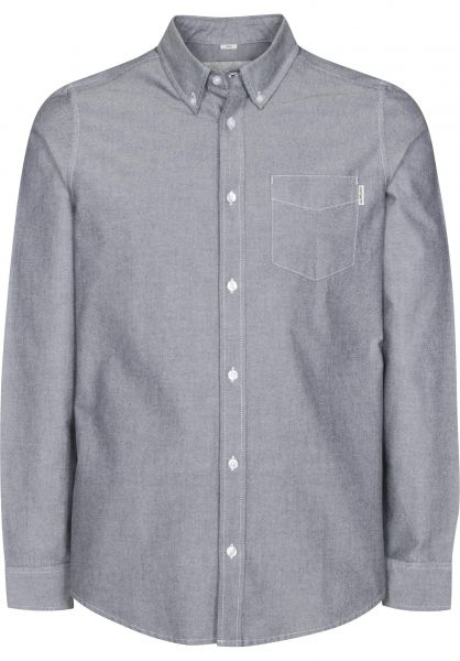 Carhartt WIP Hemden langarm Button Down Pocket black Vorderansicht
