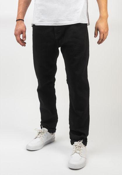 Carhartt WIP Jeans Coast Pant blackrinsed vorderansicht 0269059