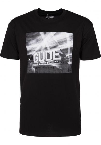 GUDE T-Shirts Intro black Vorderansicht