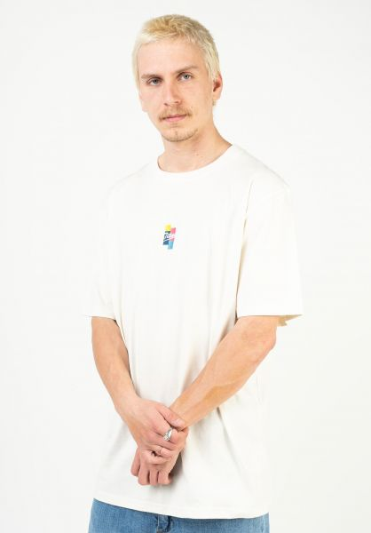 TITUS T-Shirts Ruslan offwhite vorderansicht 0320927