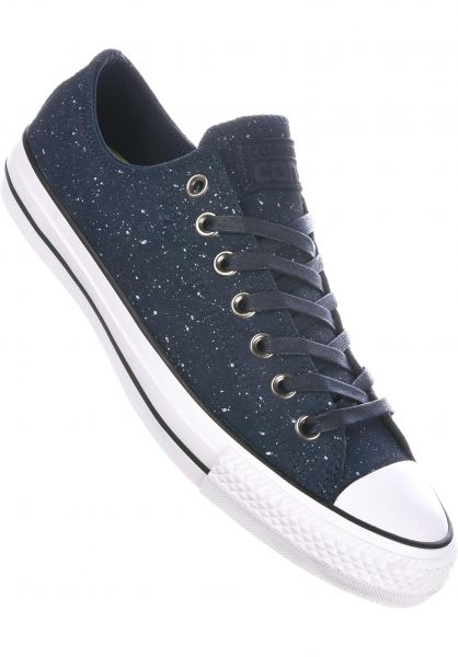 cf5fa8630b90 Converse CONS Alle Schuhe CTAS Pro Suede Ox obsidian-white-obsidian  Vorderansicht