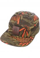 Turbokolor Caps Five Panel Cap cone-print Vorderansicht