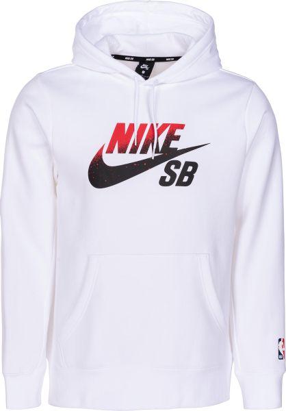 Nike SB Hoodies SB Icon NBA white vorderansicht 0445275