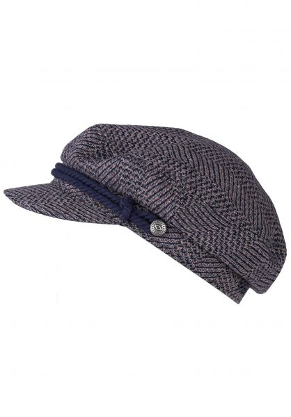 Brixton Hüte Fiddler washednavy-mauve vorderansicht 0580162