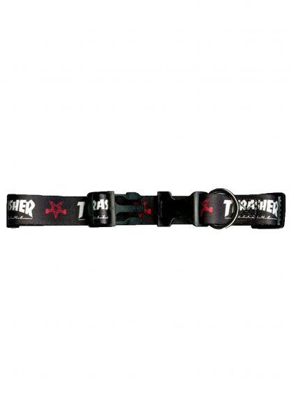 Thrasher Verschiedenes Dog Collar Large black vorderansicht 0971209