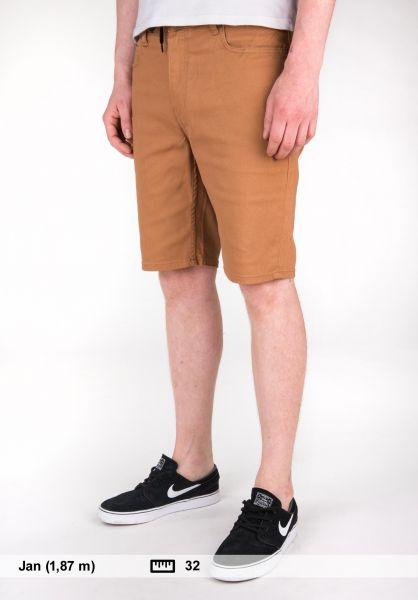 Element Shorts EO2 Color WK broncobrown Vorderansicht