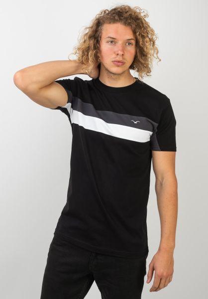 Cleptomanicx T-Shirts Faster black vorderansicht 0397450