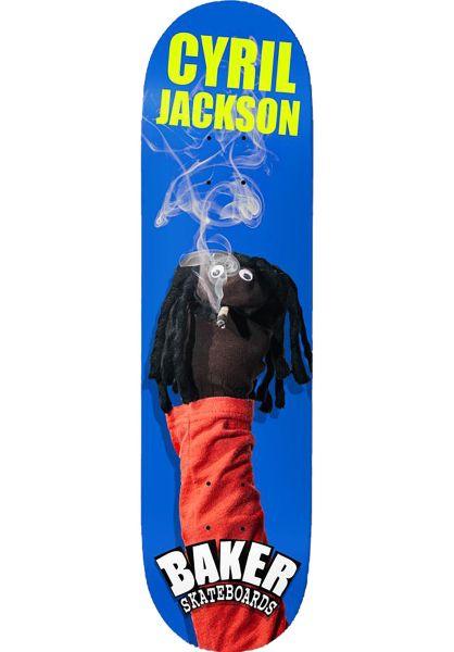Baker Skateboard Decks Jackson Sock Puppet blue vorderansicht 0261398