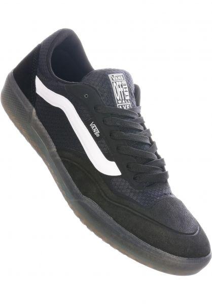 Vans Alle Schuhe Ave Pro black-white vorderansicht 0604646