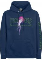 Thrasher Hoodies Atlantic Drift navy Vorderansicht