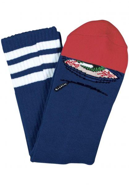 Toy-Machine Socken Stoner Sect blue vorderansicht 0630882