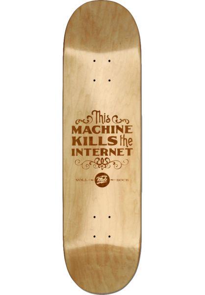 MOB-Skateboards Skateboard Decks Killer lightnatural vorderansicht 0263045