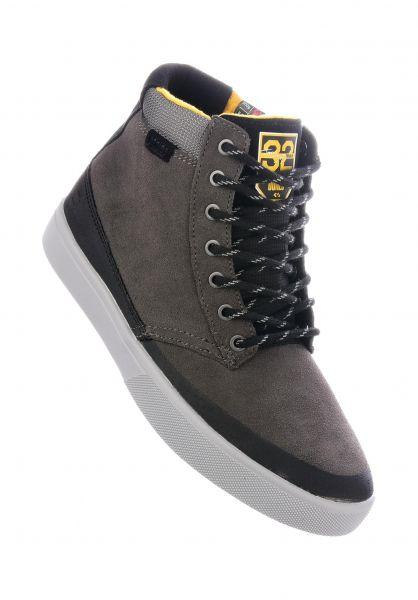 etnies Alle Schuhe Jameson HTW X 32 grey-black-yellow vorderansicht 0612467