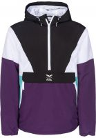 iriedaily Windbreaker Get Down Pull Up darkpurple Vorderansicht