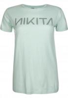 Nikita T-Shirts Dusk Tee Quartz bluehaze Vorderansicht