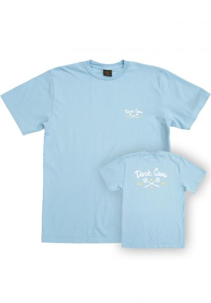 Dark Seas T-Shirts Easy Going Select Tee Women lightblue vorderansicht 0322122