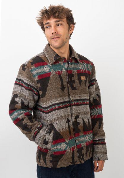 iriedaily Winterjacken Santania Jacket tobacco vorderansicht 0250101