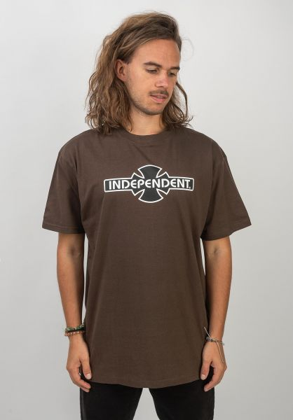Independent T-Shirts OGBC darkchocolate vorderansicht 0366923