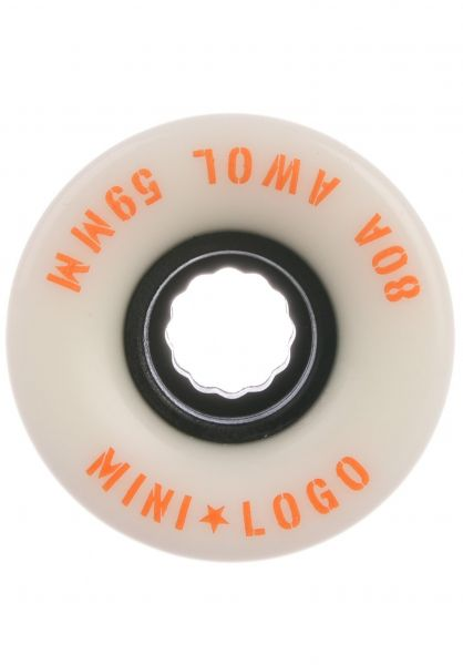 Mini-Logo Rollen A.W.O.L. A-Cut II 80A white vorderansicht 0134686