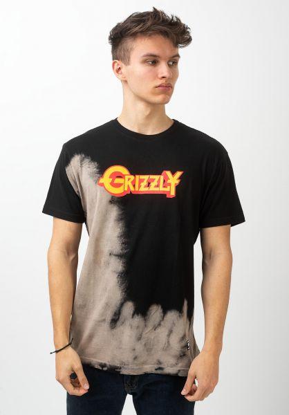 Grizzly T-Shirts Grizzfest bleachwash vorderansicht 0321040