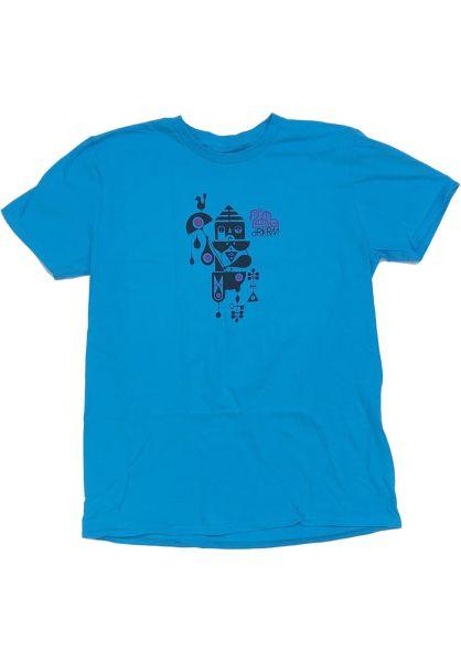 Darkroom T-Shirts Executioner heatherturquoise vorderansicht 0322100