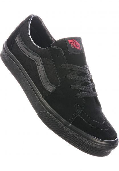 Vans Alle Schuhe Sk8-Low black-black vorderansicht 0604970