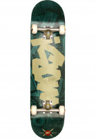 MOB-Skateboards Skateboard komplett Tape Desk green Vorderansicht