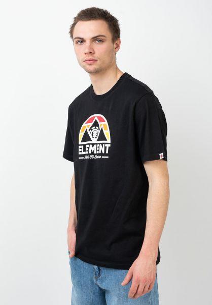 Element T-Shirts Squaw flintblack vorderansicht 0321663